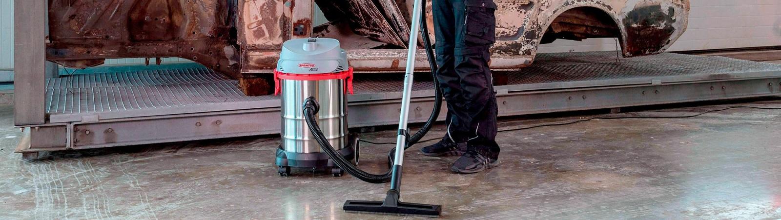 Sprintus stofzuigers en schrobmachines importeur Nederland